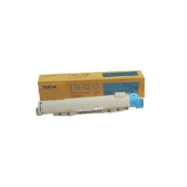 Brother TN12C Toner ciano, 6.000 Pagine/5% per HL 4200 CN