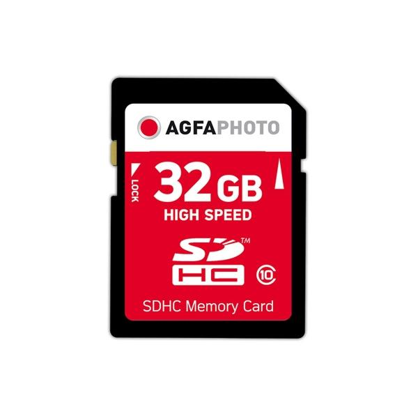 AgfaPhoto 32GB SDHC 32GB SDHC Classe 10 memoria flash 5-6gg Lavorativi (da Ordinare)