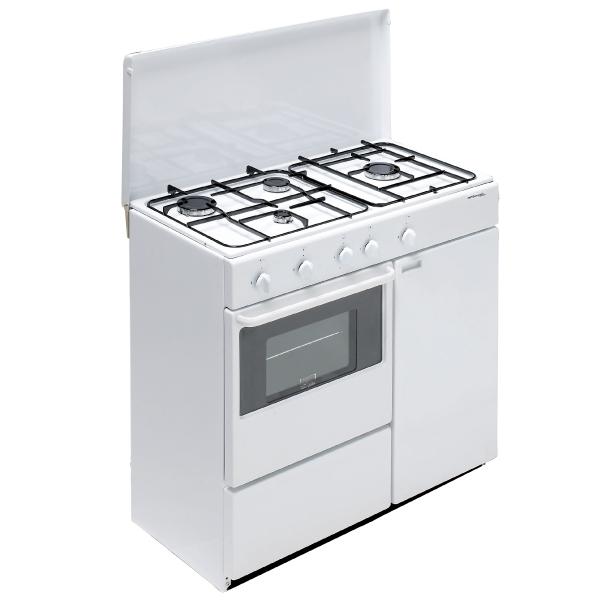 Bompani BI960YA/L Libera installazione Piano cottura a gas Bianco cucina  BI960YA/L TP2_BI960YA/L