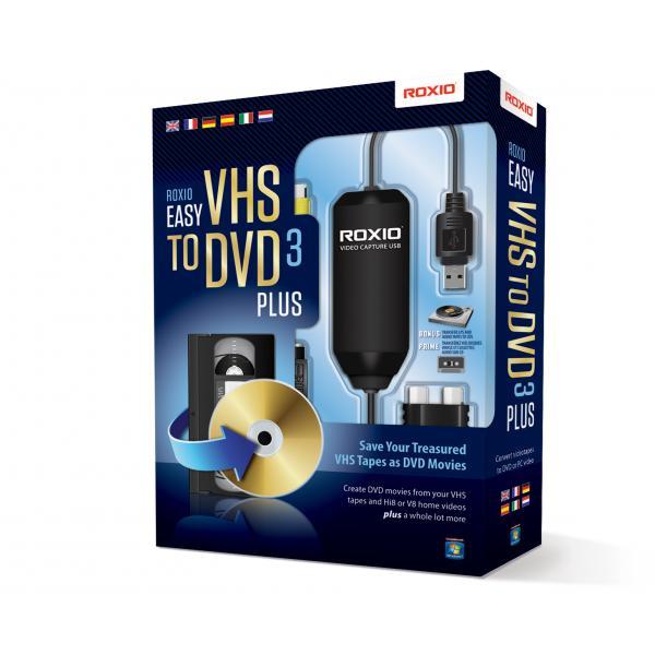 Corel Roxio Easy VHS to DVD 3 Plus USB 2.0 scheda di acquisizione video 0687967132793 251000EU 10_185D392