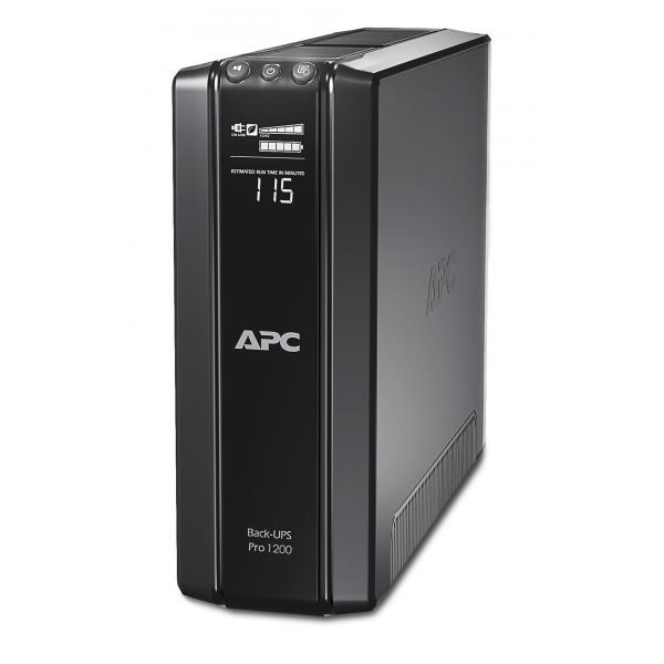 APC Back-UPS Pro A linea interattiva 1200VA Nero gruppo di continuità (UPS) 0731304286837 BR1200G-GR 10_2709550