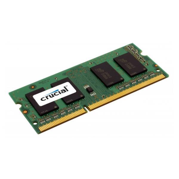 Crucial 8GB DDR3 SODIMM 8GB DDR3 1600MHz memoria 0649528754592 CT102464BF160B 07_27109