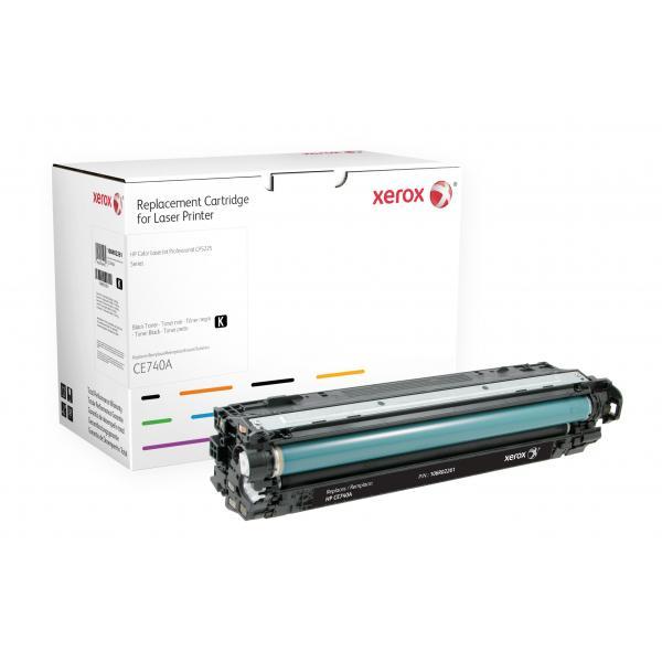 Xerox Xerox Cartuccia toner nero. Equivalente a HP CE740A. Compatibile con HP Colour LaserJet CP5225