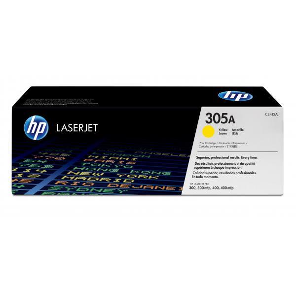 HP LaserJet Pro M451/M475 Ylw Crtg - CE412A