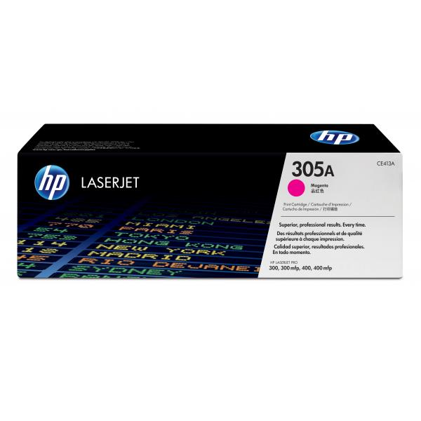 HP 305A LJ Print Cartridge Magenta - CE413A