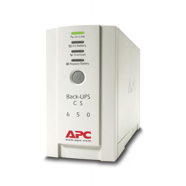 APC APC Back-UPS gruppo di continuità (UPS) 650 VA 4 presa(e) AC Standby (Offline)