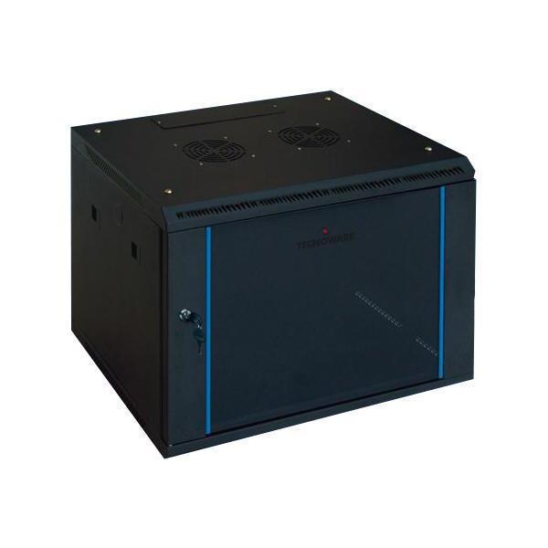 Tecnoware 19'' Wall Pro 9U Parete Nero armadio rack a corrente 8026475163011 FRA16301 03_FRA16301