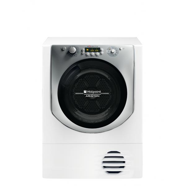 Hotpoint AQC8 3F5 T/Z1 (IT) Libera installazione Caricamento frontale 8kg A Bianco asciugatrice 8007842768626 76862 08_76862