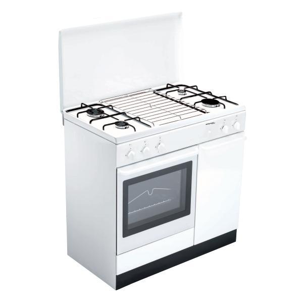 Bompani BI950EA/L Libera installazione Piano cottura a gas Bianco cucina  BI950EA/L TP2_BI950EA/L