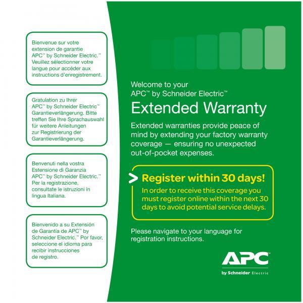 APC Service Pack 3 Year Extended Warranty 0731304259633 WBEXTWAR3YR-SP-01 TP2_WBEXTWAR3YRSP01
