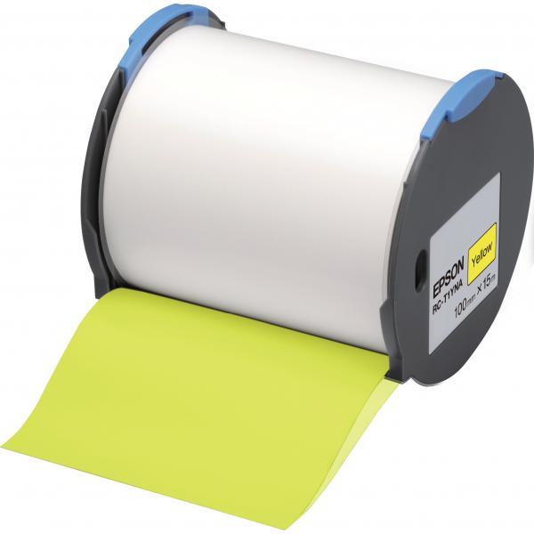 Epson Nastro etichette (base gialla) 100mm 8715946515120 C53S633003 10_235F245