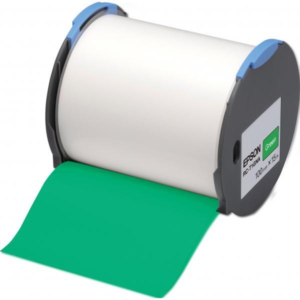 Epson Nastro etichette (base Verde) 100mm 8715946515151 C53S633006 10_235F247