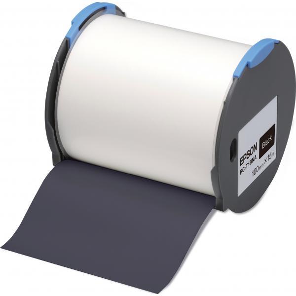 Epson Nastro etichette (base nera) 100mm 8715946515168 C53S633007 10_235F249
