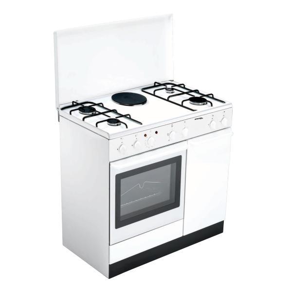Bompani BI940EA/L Libera installazione Combi hob A Bianco cucina  BI940EA/L TP2_BI940EA/L