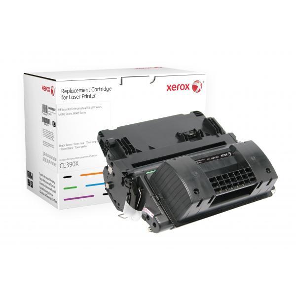 Xerox Xerox Cartuccia toner nero. Equivalente a HP CE390X. Compatibile con HP LaserJet 600 M602, LaserJet 600 M603, LaserJet M4555 MFP