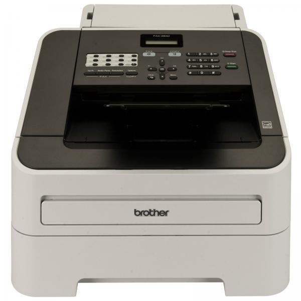 Brother FAX-2840 macchina per fax Laser 33,6 Kbit/s A4 Nero, Grigio