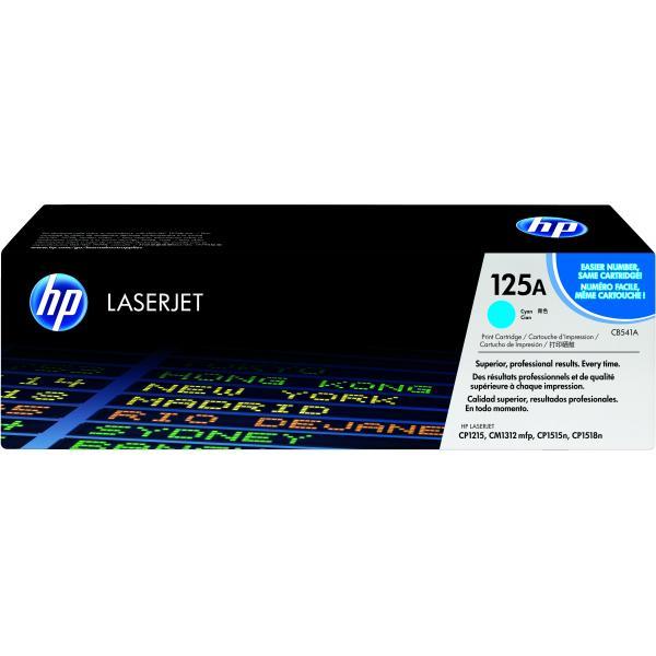 HP Cartuccia Toner originale ciano LaserJet 125A 0808736839181 CB541A COM_49287