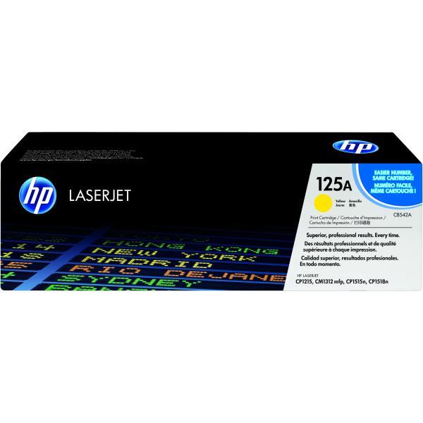 HP Cartuccia Toner originale giallo LaserJet 125A 0808736839198 CB542A COM_49288