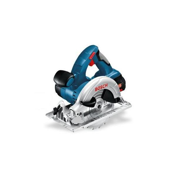 Bosch GKS 18 V-LI Nero, Blu, Rosso, Argento 16,5 cm 3900 Giri/min