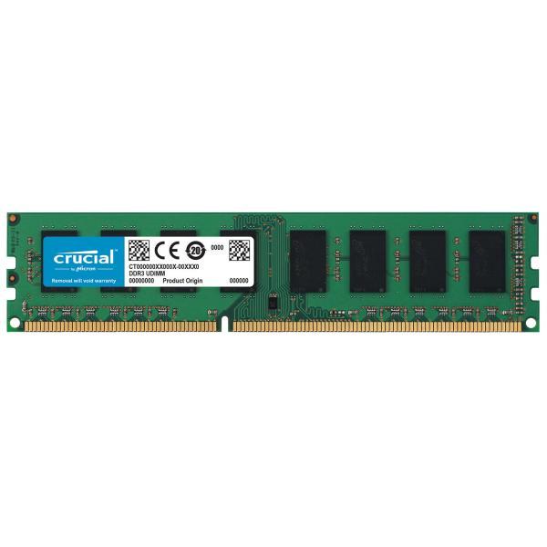 DDR3 8GB PC 1600 Crucial CT102464BD160B  retail 1,35V