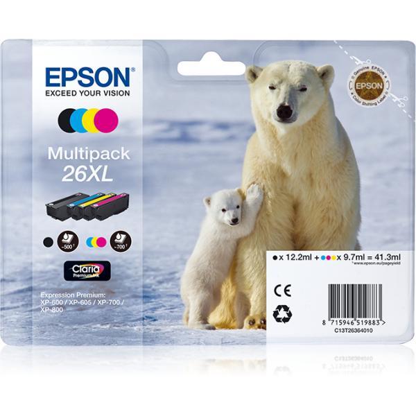 Epson Multipack 26xl 8715946519890 C13T26364020 10_235F575