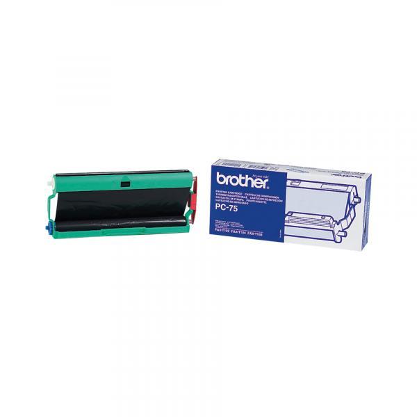 Brother PC-75 Fax cartridge + ribbon 144pagine Nero 1pezzo(i) ricambio per fax 4977766630702 PC75 10_583Z739