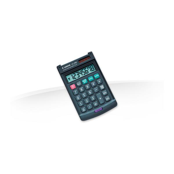Canon LS-39E Tasca Calcolatrice di base Grigio 4960999651729 4046A014 10_242Q518