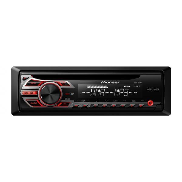 Pioneer DEH-150MP Nero autoradio 4988028177606 DEH-150MP TP2_DEH-150MP