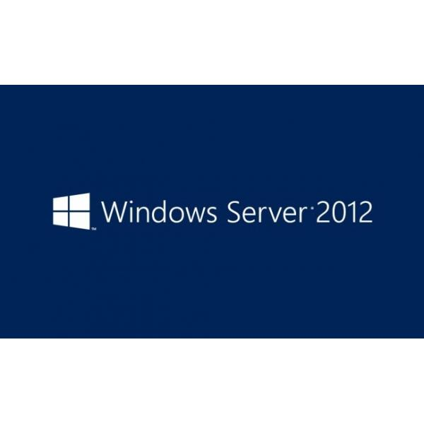 Microsoft Windows Server 2012, WIN, DCAL, 1pk, 5u, DSP, OEI, ITA 0885370441628 R18-03687 03_R18-03687