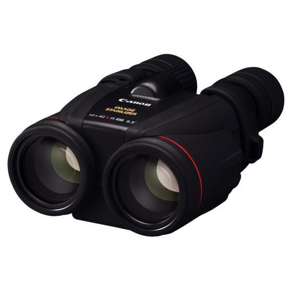 Canon 10 x 42 L IS WP binocolo Porro II Nero