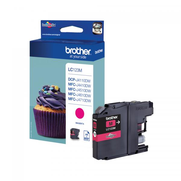 Brother Ink magenta LC123M
