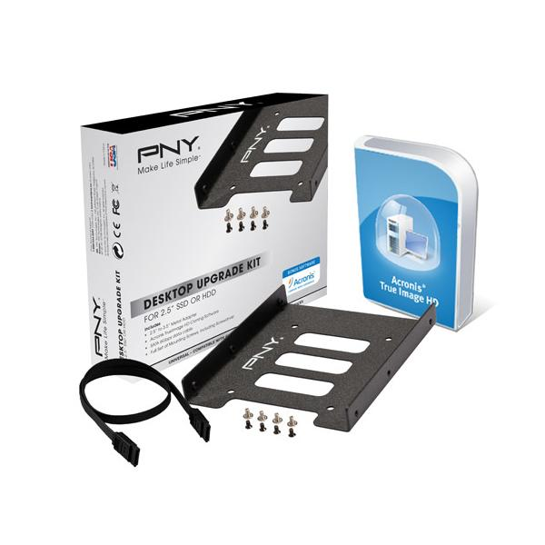 ADATTATORE SSD PNY KIT - Bracket DA 2,5 A 3,5