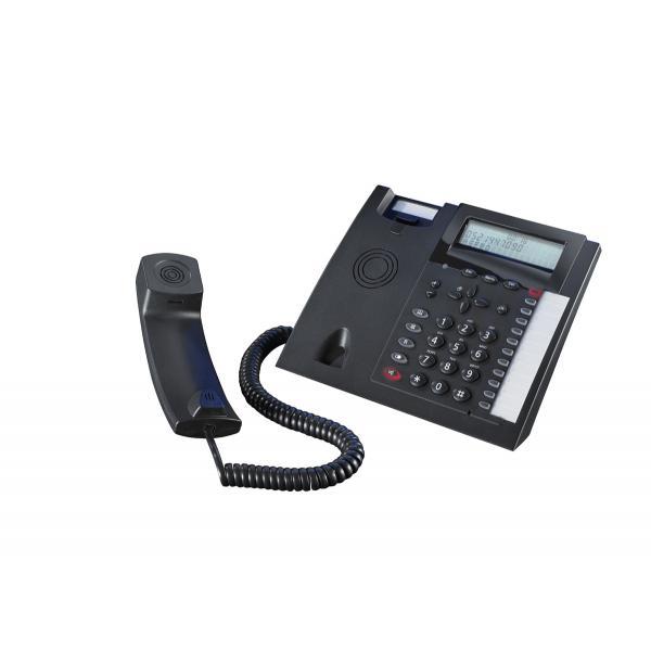 AGFEO T 18 schwarz analoges Tischtelefon