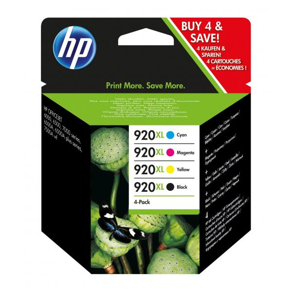 HP 920XL Ink Cartridge Combo Pack - C2N92AE