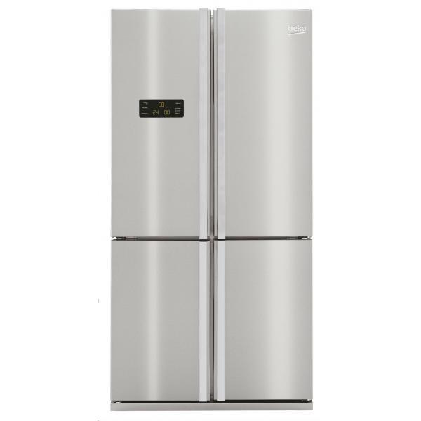 Beko GNE114612X Libera installazione 565L A+ Grigio, Acciaio inossidabile frigorifero side-by-side  GNE114612X TP2_GNE114612X