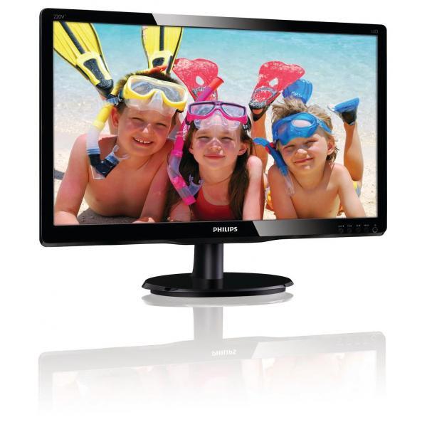 Philips 22IN LED 1680X1050 16:10 5MS 220V4LSB DVI  VGA               .IN