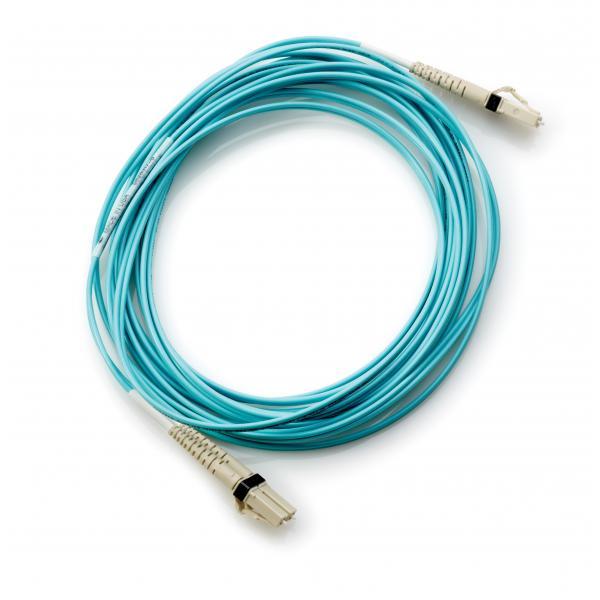 Hewlett Packard Enterprise AJ837A 15m LC LC Blu cavo a fibre ottiche 0884420053712 AJ837A 03_AJ837A