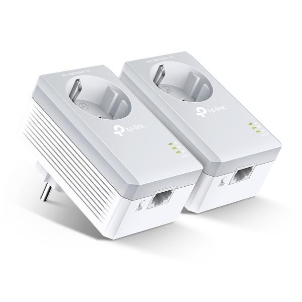 Adattatore PLC Wifi TP-Link AV600 500 Mbps (2 pcs)