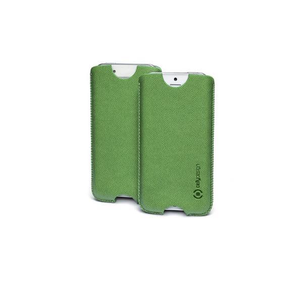 vert. pu case iphone 5 grass green