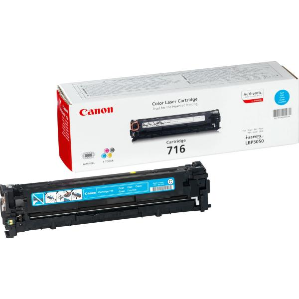 Canon Canon 716 Cyan Cartuccia laser 1500pagine Ciano