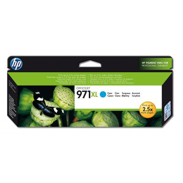 HP Cartuccia originale inchiostro ciano ad alta capacità 971XL 0886112877385 CN626AE COM_49441