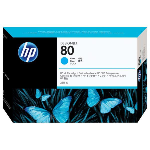 HP HP Cartuccia inchiostro ciano DesignJet 80, 350 ml