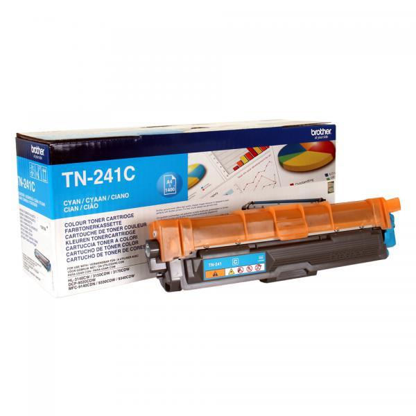 Brother TN-241C Cartuccia 1400pagine Ciano cartuccia toner e laser 4977766718400 TN-241C 14_TN241C