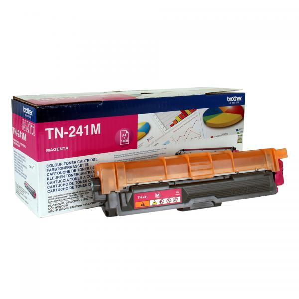 Brother TN-241M Cartuccia 1400pagine Magenta cartuccia toner e laser 4977766718424 TN-241M 14_TN241M