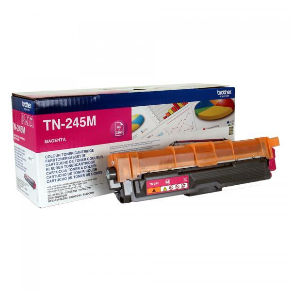 Brother TN-245M Cartuccia 2200pagine Magenta cartuccia toner e laser 4977766718486 TN-245M 14_TN245M