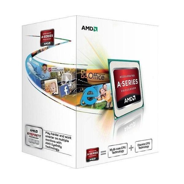 AMD A4-4000 3GHz 1MB L2 Scatola processore 0730143303415 AD4000OKHLBOX 10_B960787