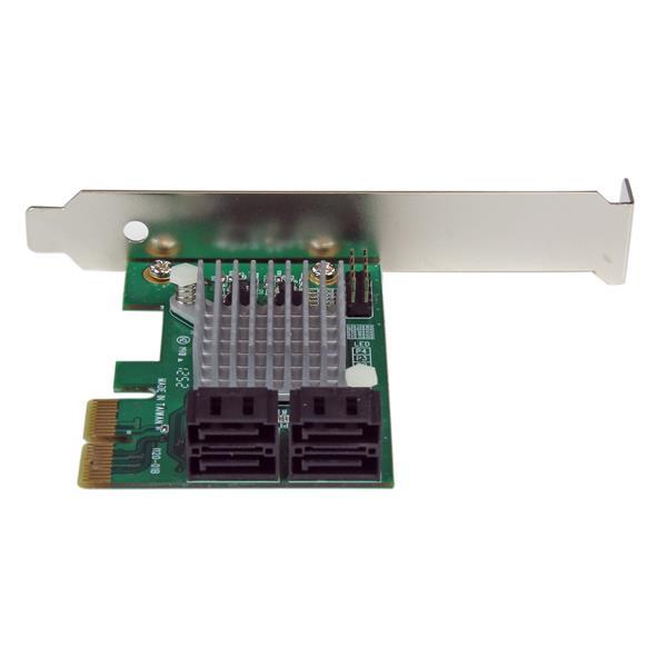 Scheda controller RAID PCI Express 2.0 SATA III 6 Gbps a 4 porte con tiering SSD HyperDuo