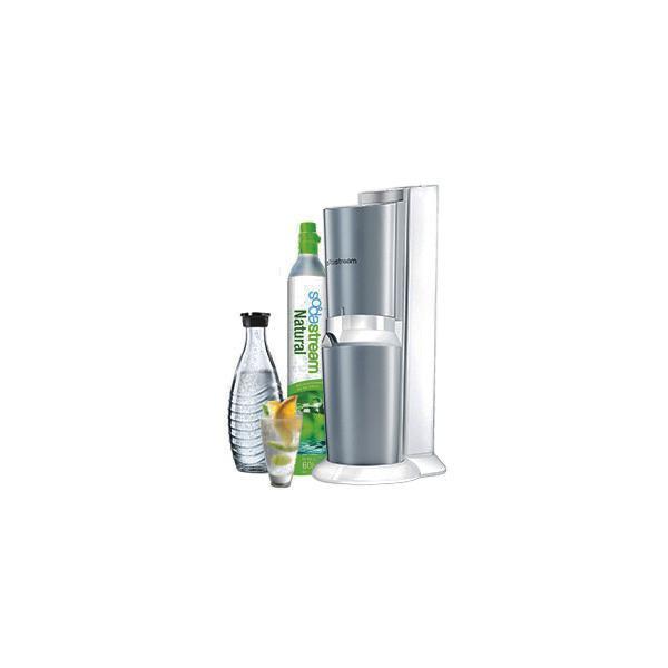 1216511490 Soda Maker Crystal titanium/white