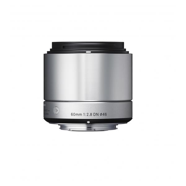 Sigma 60mm F2.8 DN MILC Telephoto lens Argento 0085126929787 35S965 TP2_SI35S965