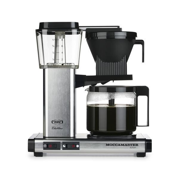 Moccamaster KBG 741 AO spazzolato caffè in alluminio 59621